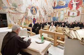 """""""FRANCISCO, DIOS EXISTE Y ESO BASTA!"""". Primera predicación de Adviento del Padre Raniero Cantalamessa"""