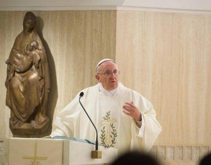 RECIBID AL ESPÍRITU SANTO! ESTA ES LA FUERZA! Homilía del Papa