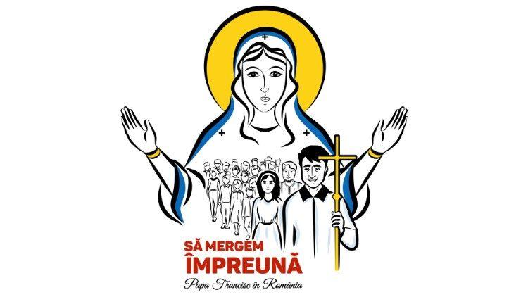 """""""CAMINEMOS JUNTOS"""" Es el lema de la visita que hará el Papa a Rumanía"""